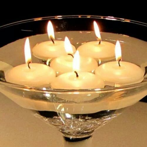 Easy Floating Candle Centerpieces: 164 Best Images About Frascos De Vidrio Decorados Y
