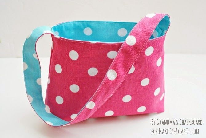 DIY Reversible Bag...for kids! --- Make It and Love It    Great for Easter treats !!!!!!!!