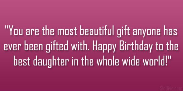 Best 25+ Daughters Birthday Quotes Ideas On Pinterest