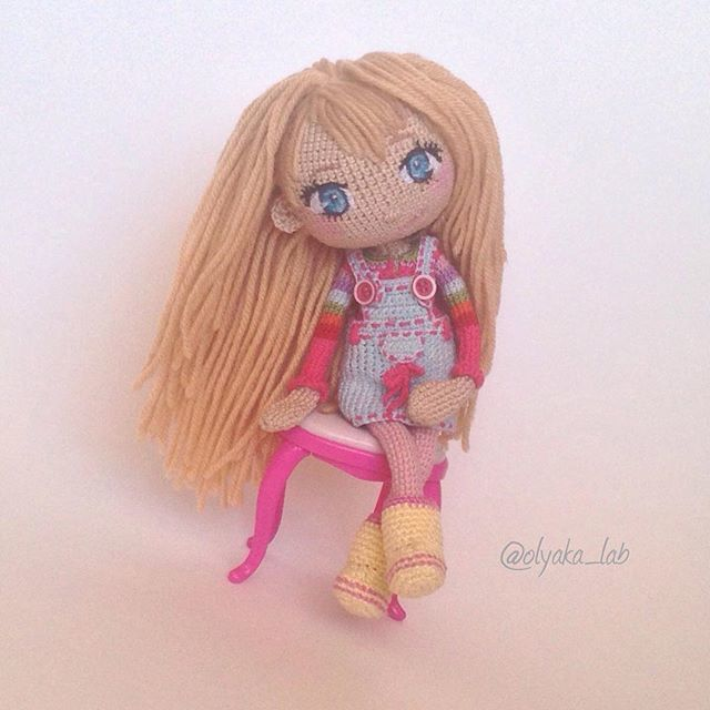 Adorable amigurumi doll. (Inspiration).♡