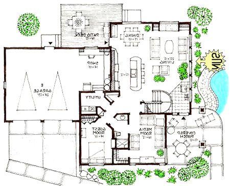 nobby design ideas ultra modern house plans - Modern Home Plans