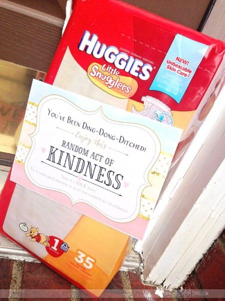 Random Acts of Kindness- FREE printables!  I want to do this!
