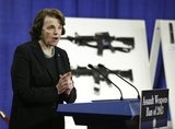 Memo to Sen. Dianne Feinstein: If you want people to take you seriously, don't brandish illegal weapons at a press conference where you're advocating a bill to ban others from brandishing said weapons.