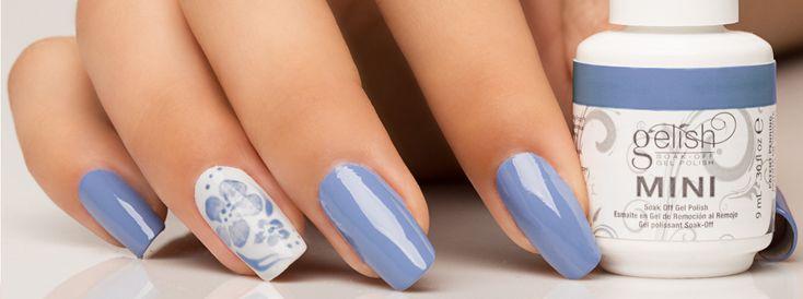 Nail Art Tutorial: Blue Hawaiian Nail Art
