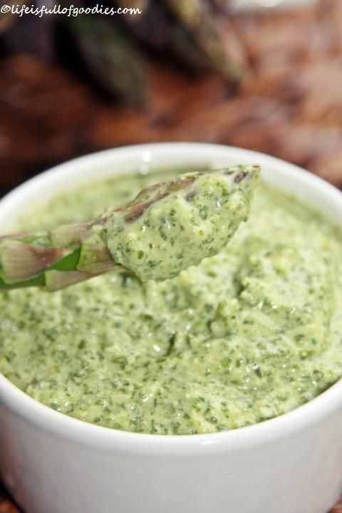 Frankfurter Grüne Sauce zu Spargel
