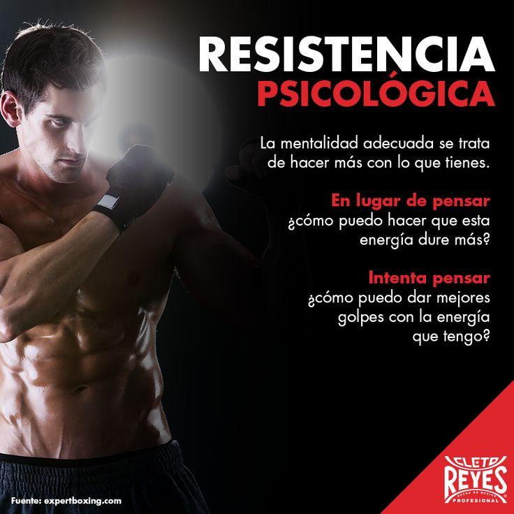 Un verdadero Campeón fortalece su resistencia psicológica. #CletoReyes #training #workout #mind #health #box