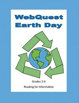 This is a web search designed to give students factual information about Earth Day as they use the internet. During the search they use a variety of strategies and skills that will prepare them to do research. They learn the background to Earth Day and some ideas for projects they can do on this special day. Answer Key included.  #web quest