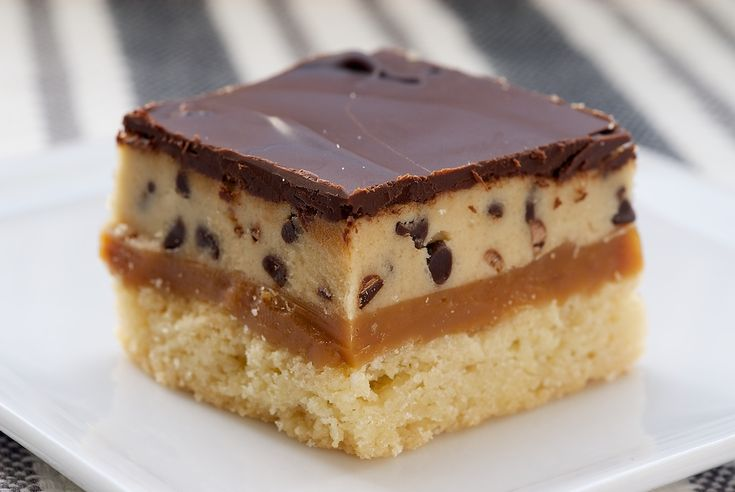 Cookie Dough Billionaire Bars | Bake or Break