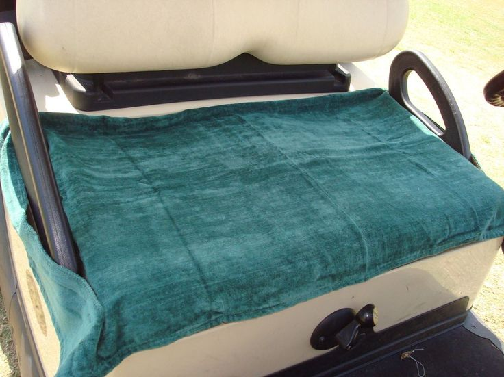 Golf Cart Towel Seat Cover | Home Portable Golf Cart Seat Cover I need a pattern for this cover!