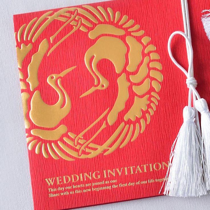 双縁(そうえん)紅 ♡結婚式の赤い個性的な席次表のまとめ一覧♡