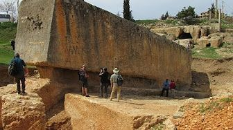 Part 1/4 - Megalithic Enigmas Of Baalbek Lebanon:  Quarry 1