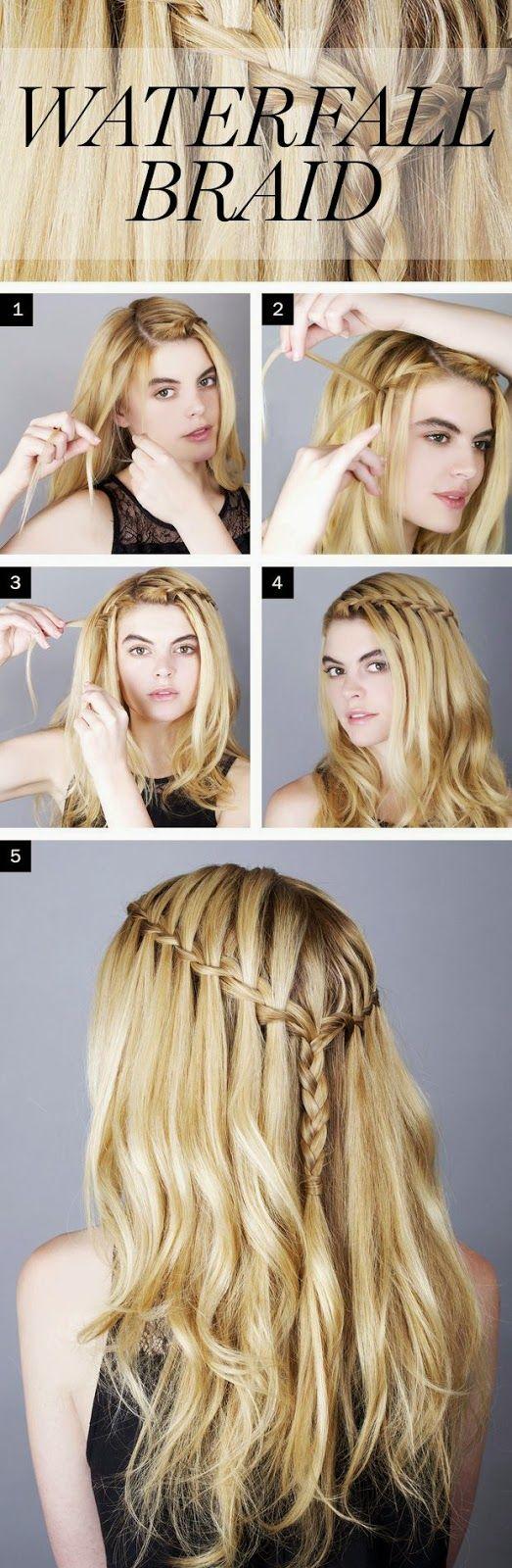 How to Waterfall Braid Your Own Hair? - Must Check! ~ Entertainment News, Photos & Videos - Calgary, Edmonton, Toronto, Canada