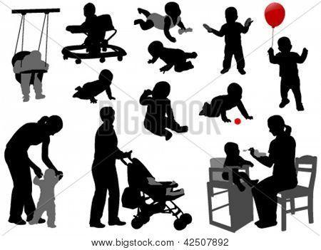 oynayan çocuklar siluet - Google'da Ara