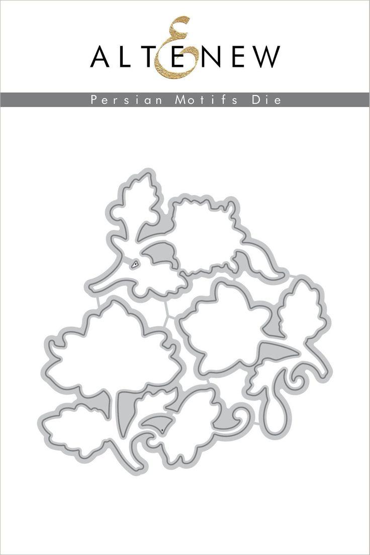 Persian Motifs Die Set