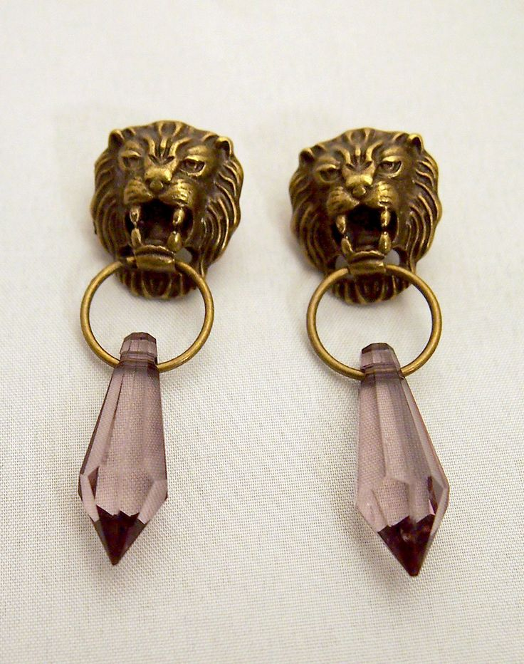 Game Of Thrones Lannister Cersei inspired earrings by DecadentCandy on Etsy