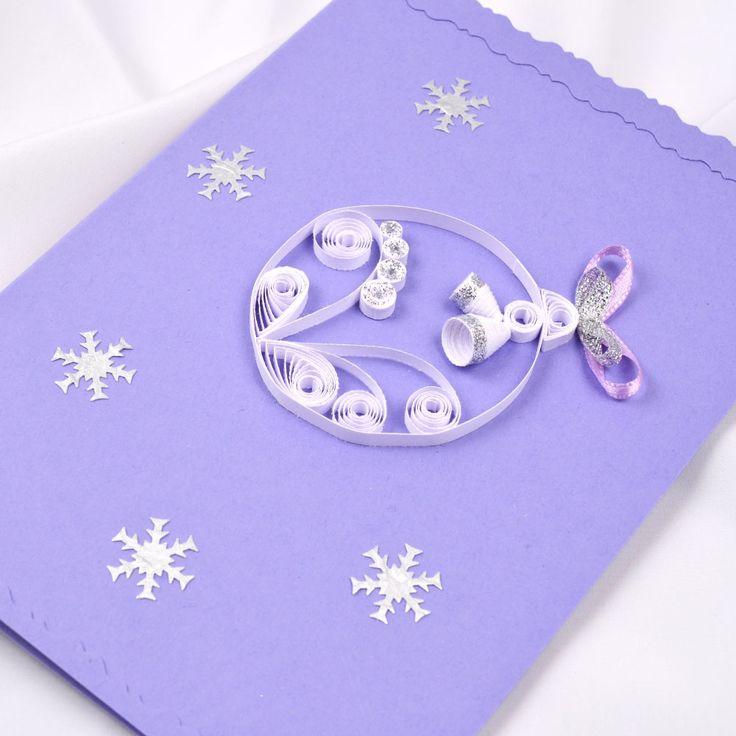 Украсить открытку на новый год