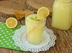 Buzlukta donmuş 2 adet limondan yapacağınız rendeleme sıkma derdi olmayan bol aromalı nefis bir içecek tarifi...