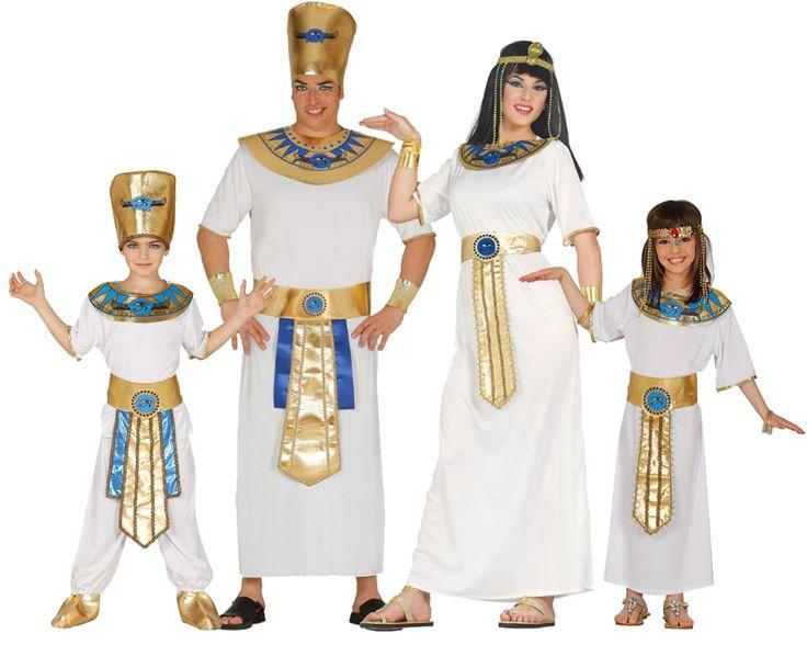 Grupo de Egipcios Blancos #disfraces #carnaval #disfracesparagrupos
