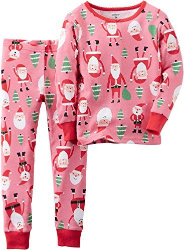9c223b872 Santa Claus Print PJ Set (Toddler/Kid) - Print - 6   Fashion Home ...