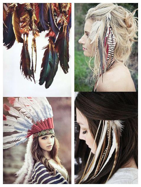 Hippie hairdos | pinkflowerlove.com