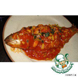 Рыба по-китайски в остро-чесночном соусе