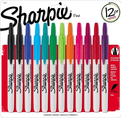 Sharpie RT Retractable Permanent Markers, 12 « Holiday Adds