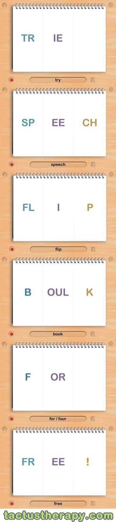 54 best Speech FlipBook images on Pinterest | Speech language ...