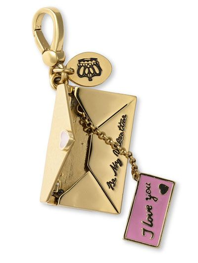 Juicy Couture Love Letter Charm