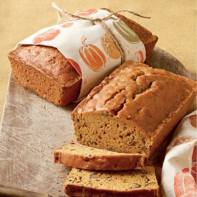 Pecan-Pumpkin Bread For a charming fall gift that's more inspired than a