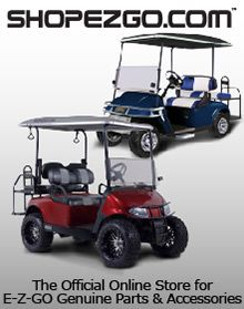 EZ GO golf cart parts and accessories
