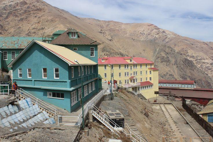 Campamento Minero Sewell. Patrimonio de la Humanidad. Rancagua. Chile. Octubre 2014