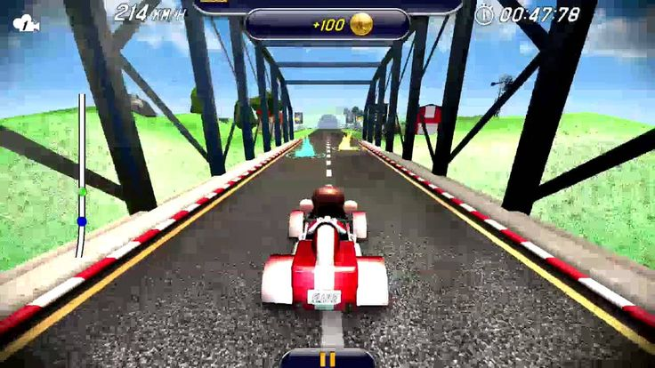 Monkey Racing Android Gameplay