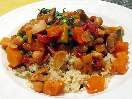 My sister spent a few weeks in Marrakesh last year and she sends me great recipe ideas. This is a wonderful, hearty meal that would make any dinner special.