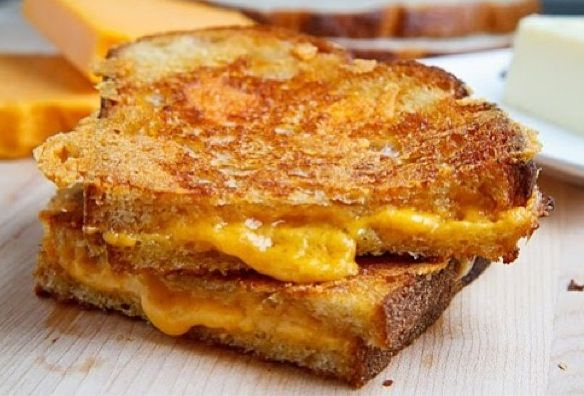 better than a grilled cheese? How about a beer-soaked grilled cheese ...