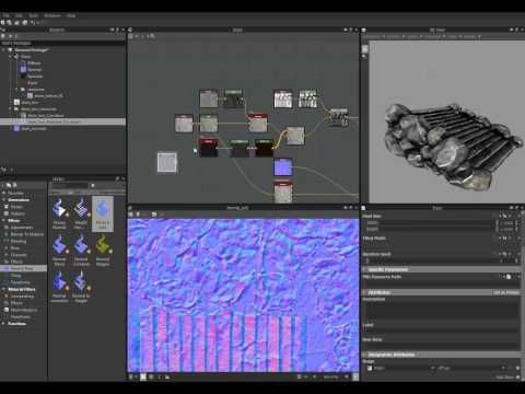 Texturing Workflow with Substance Designer - YouTube