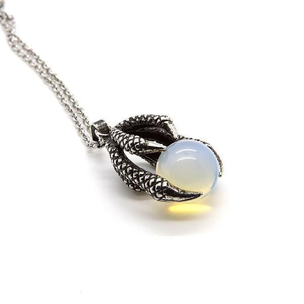 Opal Talon Necklace - Custom Flesh Plugs & Gauges, Alternative, Tattoo - Accessories - 1