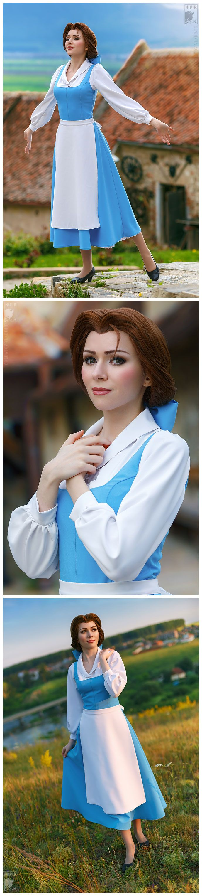 Belle from Disney's Beauty and the Beast by ryoko-demon.deviantart.com