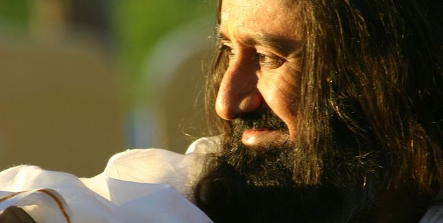 'The knowledge which gives us a broad vision and a big heart is spirituality.' - Sri Sri <3 www.srisrimiracles.com