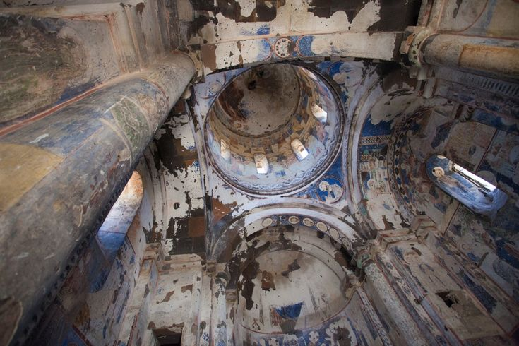 Turkey: Church discovered in world's biggest underground city in Nevşehir with never-before-seen frescos Church frescoes do not appear in any other church,and appear to show the Ascension and Last Judgement.