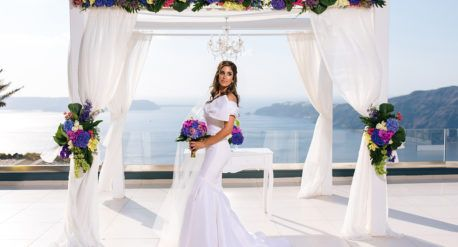 Vangelis Photography Destination wedding of Melanie and Iain Sept. 13th, 2016 Flower design & decoration: Fabio Zardi Wedding venue: Le Ciel Santorini Photo © Vangelis Photography #flowerbouquet #weddingflowers #weddingdecoration #weddingreception #fabiozardi; #wedding #santorini #mykonosweddings #greecedestinationwedding #greece #weddingflowers #weddingdecor #weddingproject #santoriniweddings #destinationweddings #weddingplanning #weddingdesign #fabiozardicouture #weddingsinsantorini…