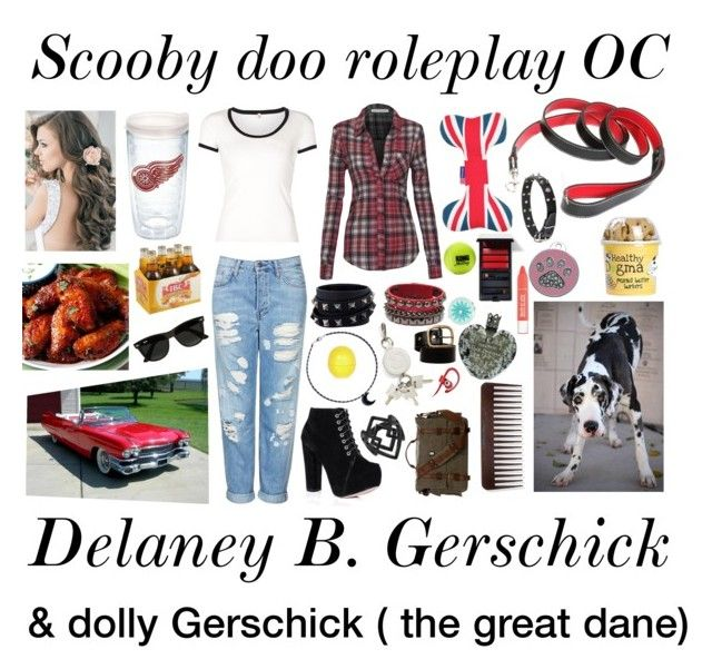 """""""Scooby doo rp OC!"""" by evil-fangirl-overlord ❤ liked on Polyvore featuring SpyLoveBuy, Topshop, Valentino, R13, Alexander Wang, Beats by Dr. Dre, Liz Claiborne, Vera Wang, River Island and Serge Lutens"""