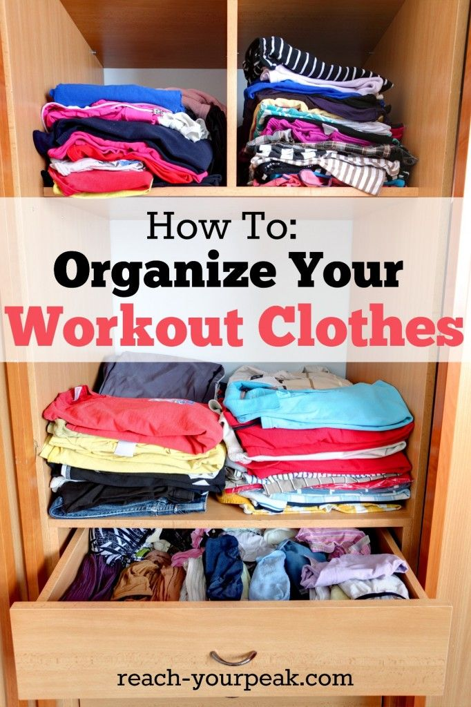 How To Organize Your Workout Gear Pinoftheday Health