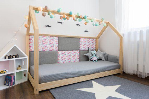 Wandpaneele Kleine In 2020 Kinder Bett Kinderbett Und Hausbett