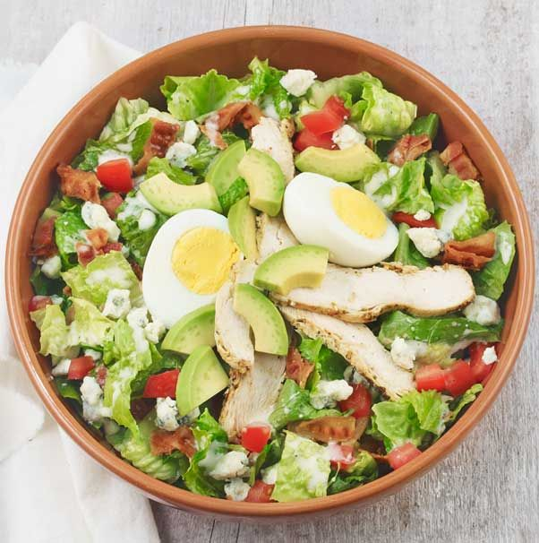 Chicken Cobb with Avocado - All-natural, antibiotic-free ...