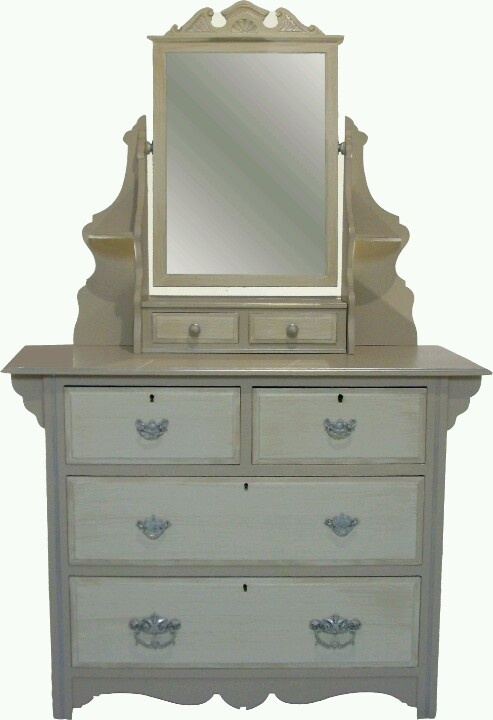 Hand painted Shabby chic dressing table