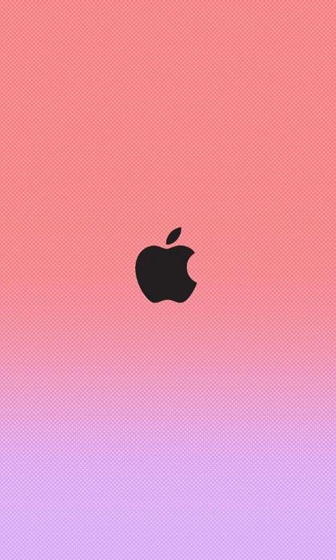 iPhone 6 Apple Logo Wallpaper Pink - Bing images