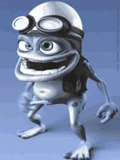 Download Crazy Frog Mobile Screensavers for your cell phone