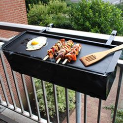 BBQ and Grill on the balcony. OK i do not care where it ships from or how much it costs. This will be mine. Love this SO very much.