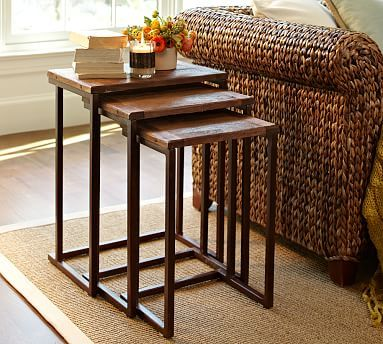 Granger Nesting Side Tables #potterybarn