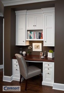 Closet Office Design Ideas, Pictures, Remodel, and Decor - page 12